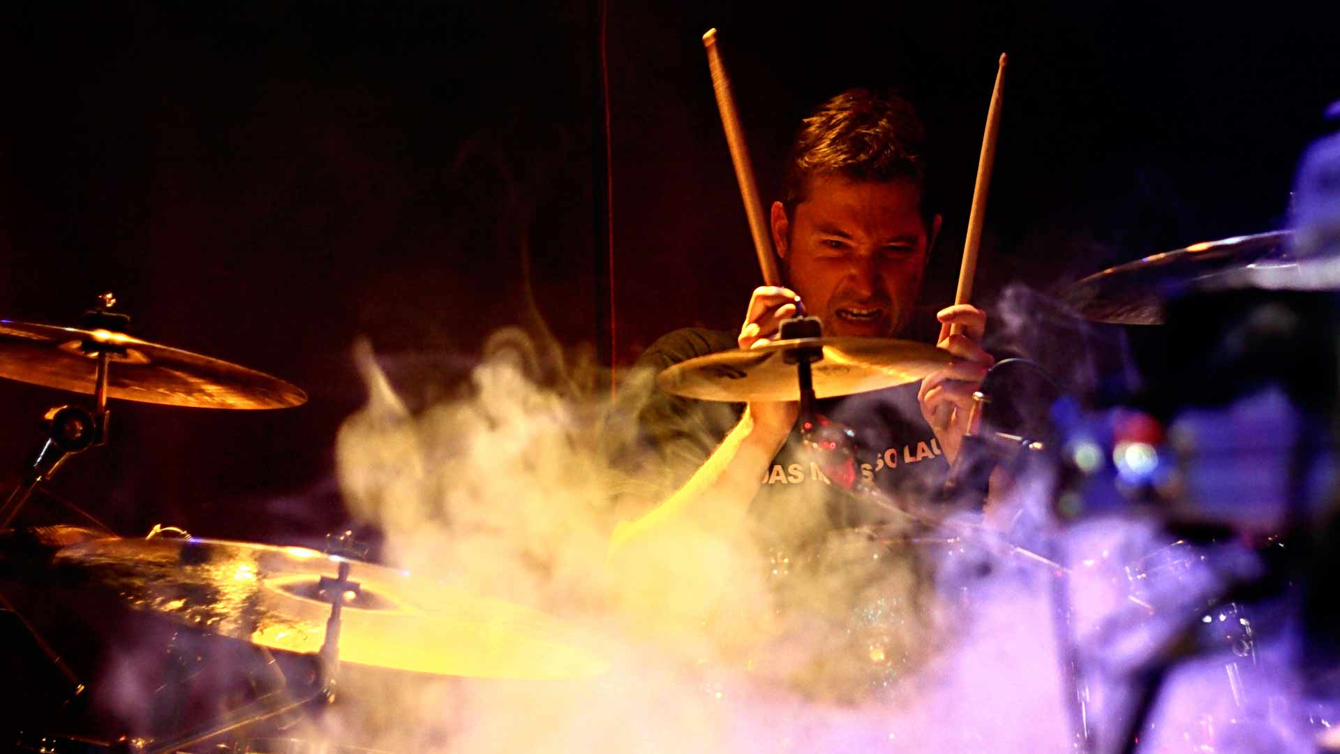 Schlagzeuglehrer Ralf Thomas