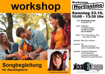 Workshop Songbegleitung