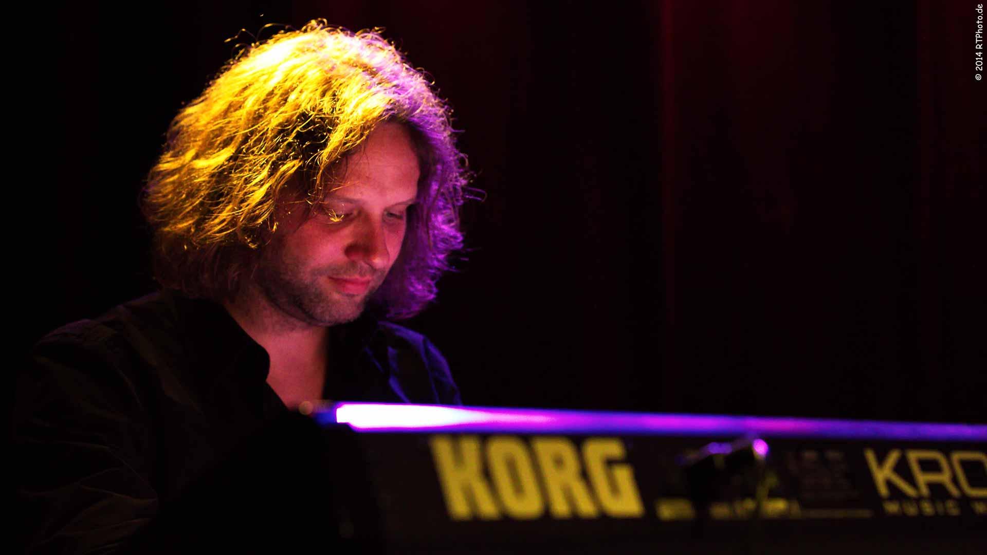 Keyboarder Danny Müller