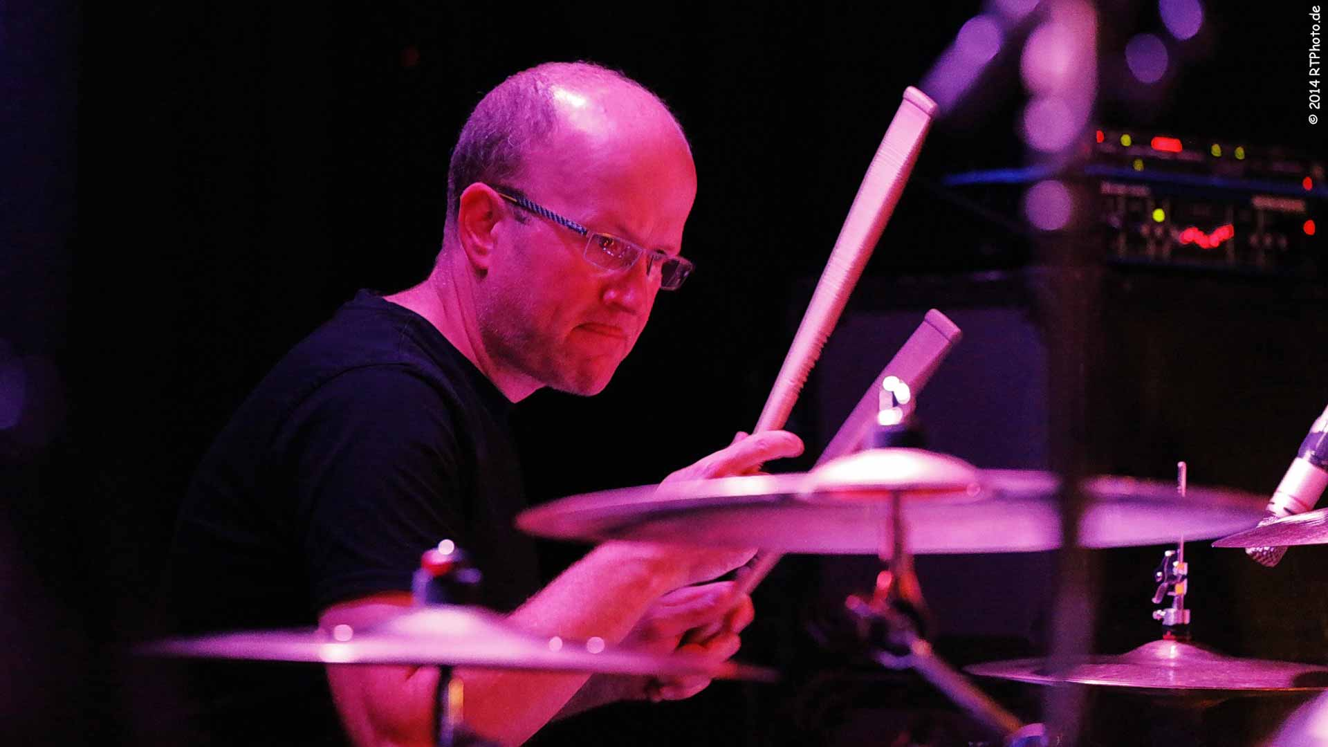 Schlagzeuglehrer Christoph Herber