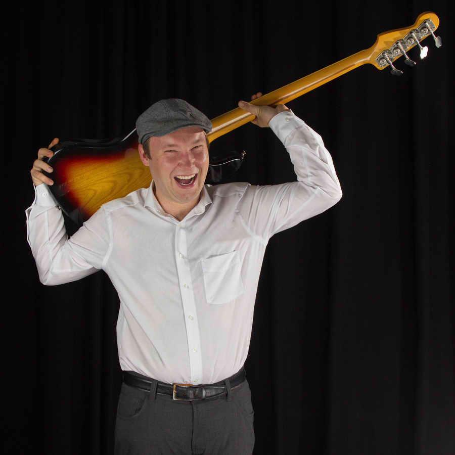 Bassunterricht bei Janni Schmidt